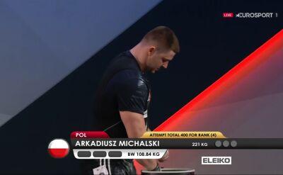 Rocznica. Arkadiusz Michalski z małym medalem mistrzostw Europy