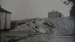 Zapadlisko na ul. Obrońców Stalingradu