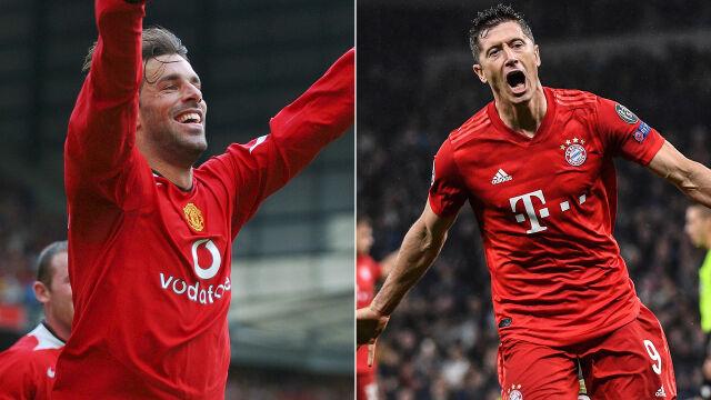 Kto lepszy - Lewandowski czy Van Nistelrooy? UEFA się zastanawia i prosi o pomoc kibiców