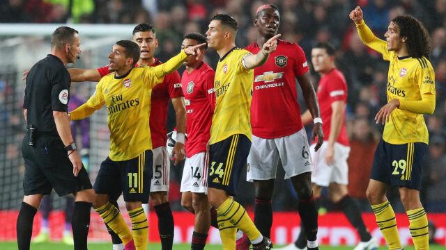 Cudowny gol nie wystarczył Manchesterowi. Arsenal podniósł się w hicie