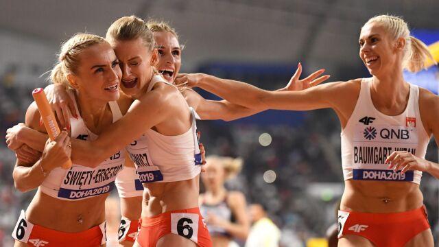 Wielki bieg polskiej sztafety. Jest medal i rekord