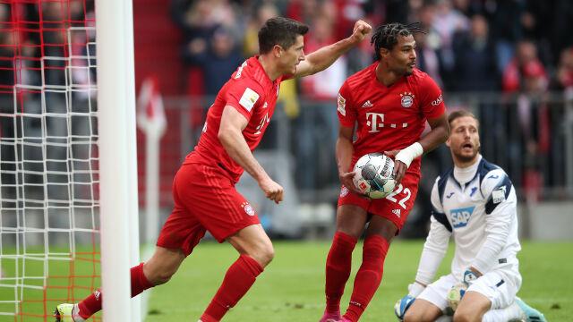 Szok w Monachium. Gol Lewandowskiego nic nie dał Bayernowi