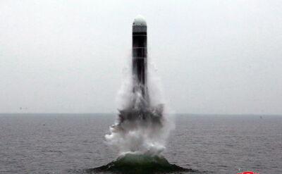 Korea Północna przeprowadziła udany test nowego typu rakiety balistycznejl)