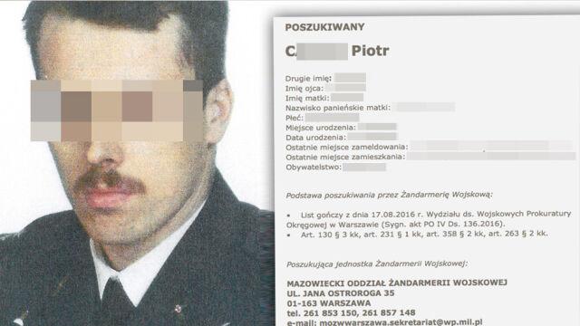 Akt oskarżenia przeciwko byłemu oficerowi. Zarzut szpiegostwa