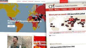 Wzrosła liczba więzionych dziennikarzy.
