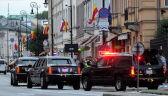 """""""Bestia"""" na ulicach Warszawy. Barack Obama jedzie na kolację"""