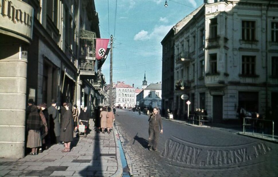Kolorowe zdjęcia Kalisza z 1940 r. znalezione na strychu