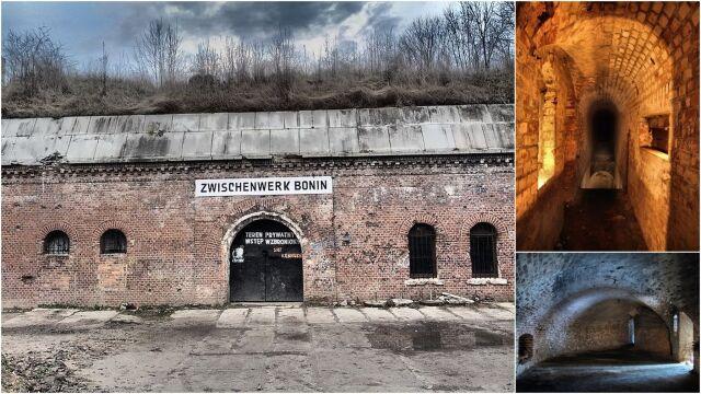"""""""Wąskie przejścia, nietoperze, zjawy"""".  """"Prusacy"""" pokazują poznański fort"""