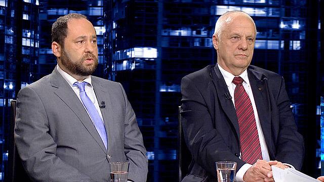 """Jan Hartman i Stefan Niesiołowski w """"Kropce nad i"""""""