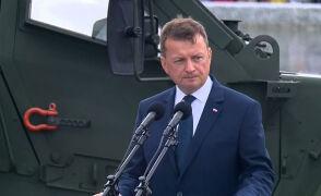Przemówienie szefa MON Mariusza Błaszczaka