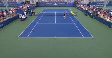 Escobedo przeleciał przez siatkę w starciu z Cuevasem w 1. rundzie US Open