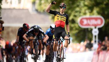 Van Aert pierwszym liderem Tour of Britain. Niewielka strata Kwiatkowskiego