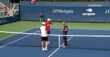 Skrót meczu Hurkacz – Gierasimow w 1. rundzie US Open
