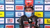 Ewan po wygraniu 5. etapu Benelux Tour