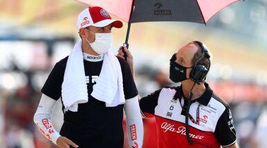 Kubica świadomy swego położenia w F1.