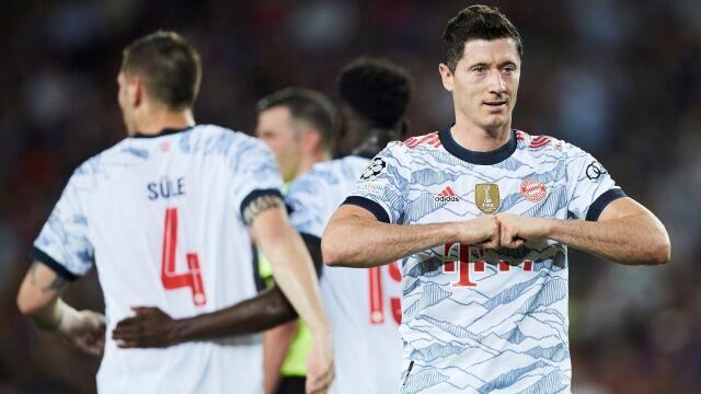 Barcelona rozbita u siebie, Lewandowski bohaterem meczu