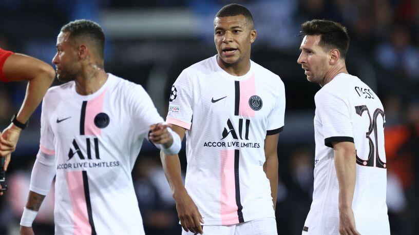Messi i PSG zatrzymani w Belgii,  aż dziewięć goli w Manchesterze