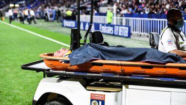 Sygnalizował problem, potem zemdlał. Dramatyczne obrazki w końcówce meczu we Francji