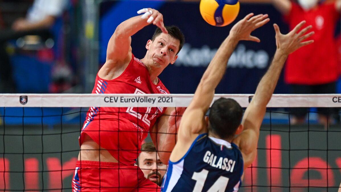 Polscy siatkarze zagrają o brąz z ustępującymi mistrzami