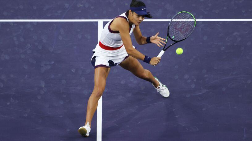Raducanu z pierwszą wygraną w turnieju WTA