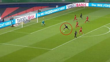 Koszmarna pomyłka zamiast gola. Bayern przez chwilę był w opałach