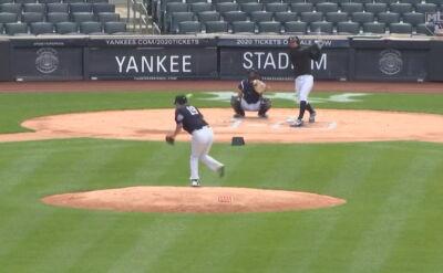 Chwile grozy na treningu New York Yankees. Masahiro Tanaka trafił do szpitala