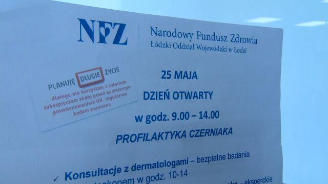 Dzień otwarty poświęcony profilaktyce nowotworów skóry w wielu polskich miastach