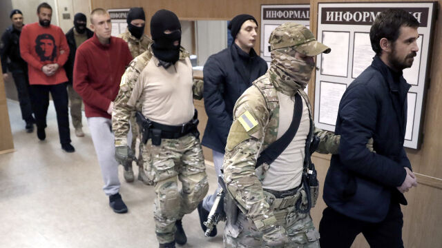 Międzynarodowy trybunał nakazał Rosji niezwłoczne uwolnienie ukraińskich marynarzy