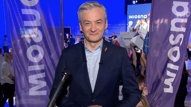 """Robert Biedroń w """"Faktach po Faktach"""". Cała rozmowa"""