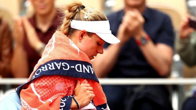 Pierwsze godziny French Open i od razu duża niespodzianka. Kerber poza turniejem