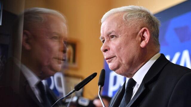 Kaczyński: PiS gotowe uchwalić ustawę o ujawnianiu majątków współmałżonków polityków