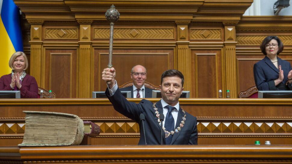 """""""Samodzielnie nie możemy pokonać rosyjskiej agresji"""". Nowy prezydent Ukrainy apeluje do USA"""