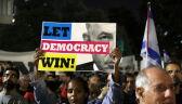 Protest przeciwko premierowi Izraela