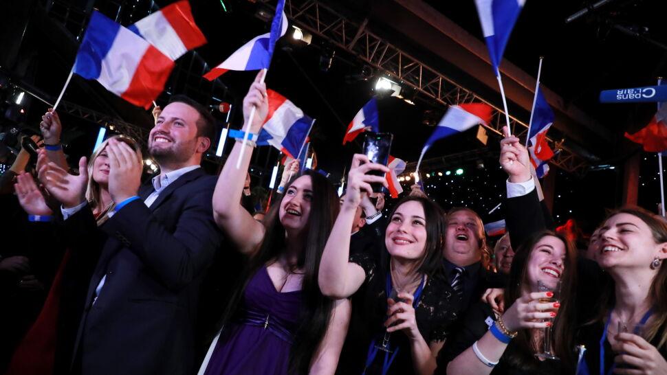 Exit poll: Zgromadzenie Narodowe (RN) Marine Le Pen wygrywa wybory