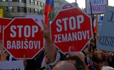 Czesi demonstrowali przeciw Babiszowi i Beneszovej