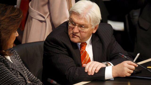"""Steinmeier apeluje do Rosji o """"powściągliwość"""""""