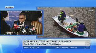 Ojca zaginionej Magdy poddano badaniom DNA i wariografu (TVN24)