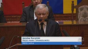 Kaczyński o poprawie warunków (TVN24)