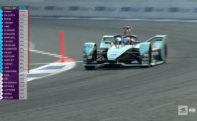 Evans wygrał ePrix w Meksyku