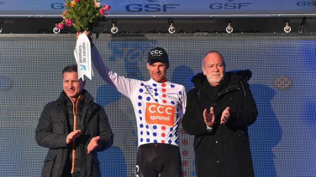 """CCC polubiło góry. Jonas Koch najlepszym """"góralem"""" w Tour de la Provence"""