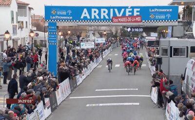 Mareczko minimalnie gorszy od Bouhanniego na 1. etapie Tour de La Provence