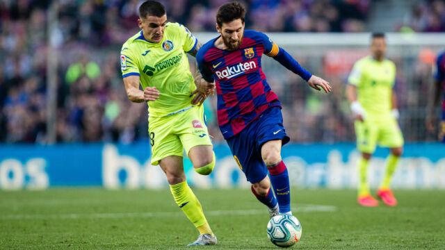 Barcelona wciąż nie imponuje stylem, ale ocaliła punkty w meczu z Getafe