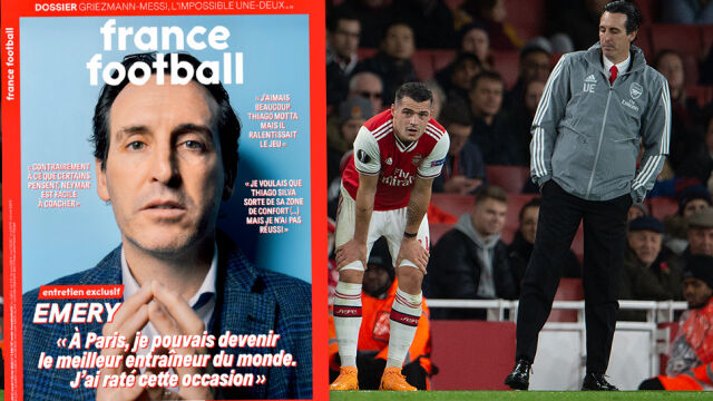 """Wyrzucony z Arsenalu trener przerwał milczenie. """"Gwiazdy nie miały właściwego nastawienia"""""""