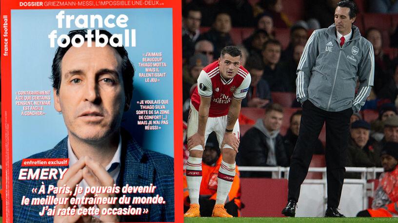 Wyrzucony z Arsenalu trener przerwał milczenie.