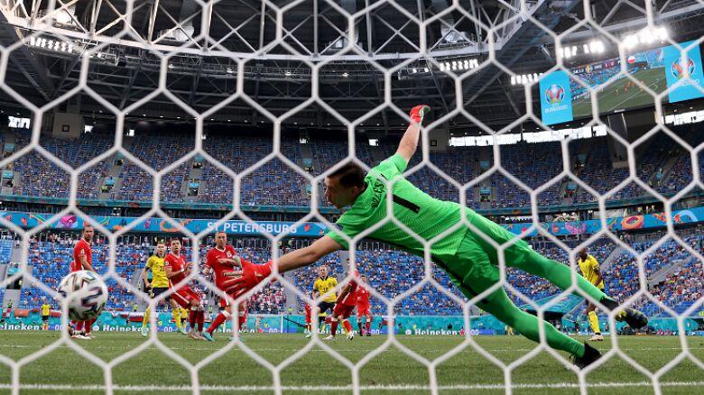 Kat Forsberg, zryw Lewandowskiego. Zobacz, jak padały bramki w meczu Szwecja - Polska