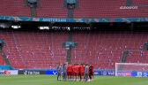Trening Macedonii Północnej przed meczem z Holandią w fazie grupowej Euro 2020