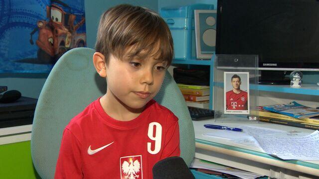 Lewandowski odpowiedział na list chłopca. Ale mały Kuba ma jeszcze jedno marzenie