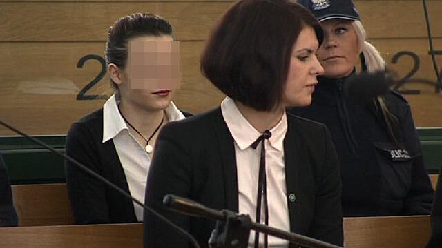 Katarzyna W. na sali rozpraw