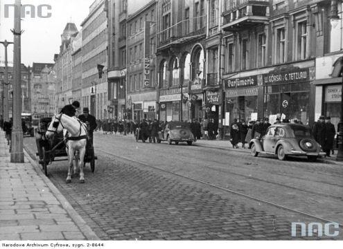 Plac Wolności w 1940 r.