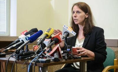 Reneta Mazur, rzeczniczka Prokuratury Okręgowej Warszawa-Praga, o zwolnieniu Łukasza N. za kaucją